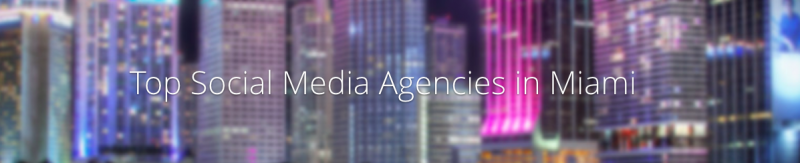 social media top agency